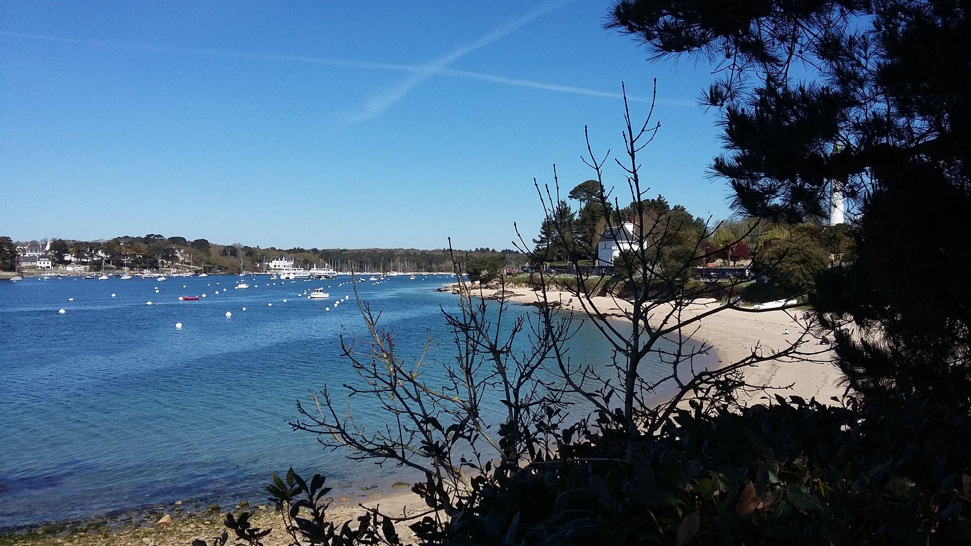 """Proche de Bénodet, au bord de la mer et de la """"plus belle rivière de France"""""""